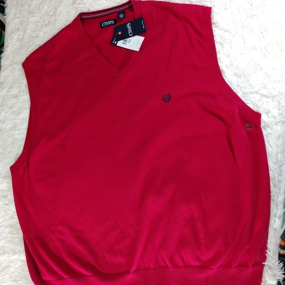 Chaps Other - NWT size 6X CHAPS Sleeveless Vneck Sweater